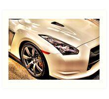Nissan GTR Art Print