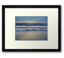 Somewhere between dreams and reality Framed Print