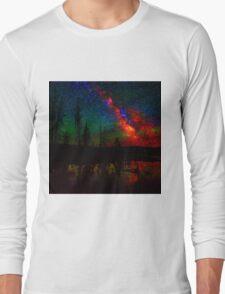 Scenic Glitch Long Sleeve T-Shirt