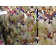 - Beads - Feathers - Dreams - Photographic Print