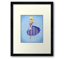 Girl of Liberty Framed Print