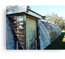 Nissen Hut, Scheyville National Park Canvas Print