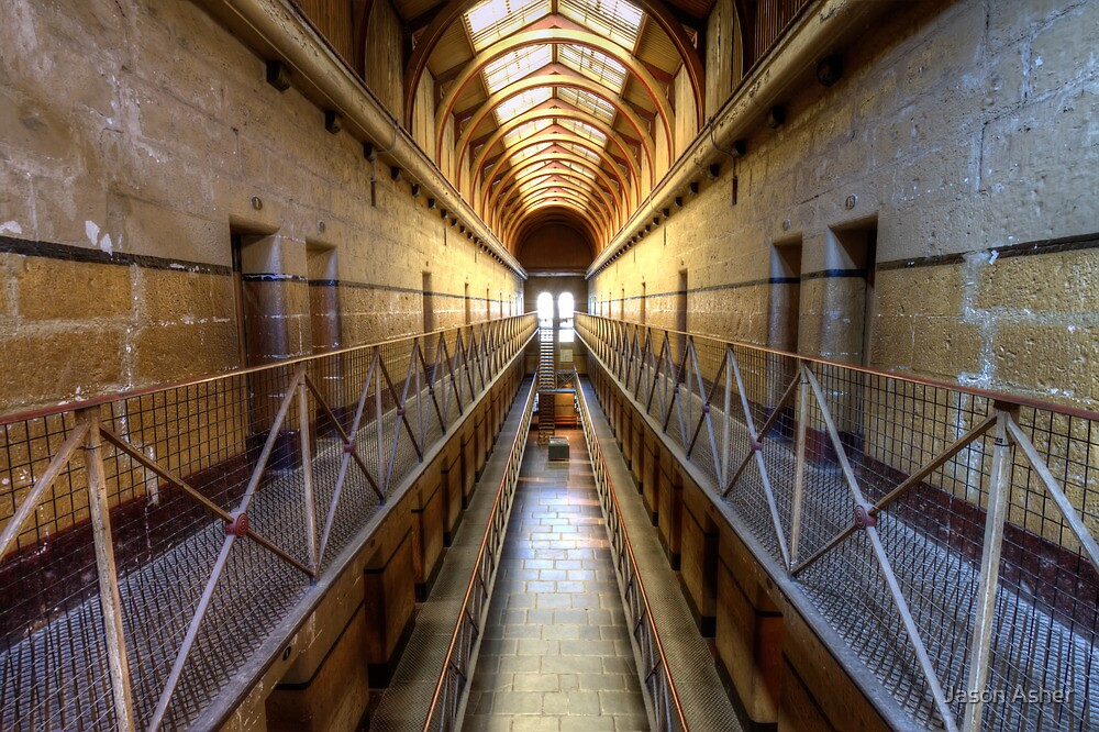 Old Melbourne Gaol by Jason Asher
