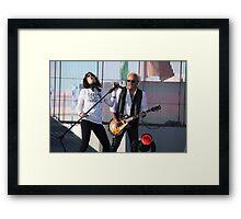 Kelly Hansen & Mick Jones of Foreigner Framed Print