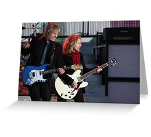 James Young & Tommy Shaw - Styx Greeting Card