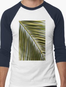 leaf in the garden Men's Baseball ¾ T-Shirt