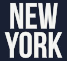 NEW YORK - Typography One Piece - Short Sleeve