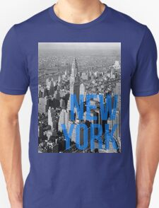 NEW YORK - Typography and cityscape T-Shirt