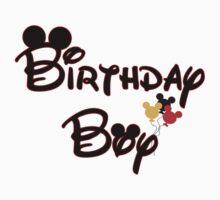 Disney Birthday Boy Kids Clothes