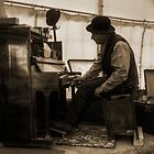 Piano man by Rob Hawkins