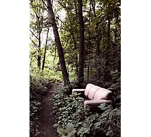 Rest Stop Photographic Print