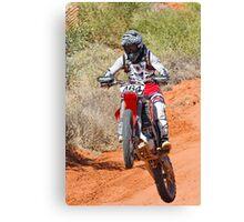 Bike 464 - Finke 2011 Day 2 Canvas Print