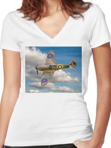 Salute to the Few Women's Fitted V-Neck T-Shirt