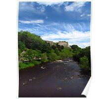 Richmond Castle & The River Swale Poster