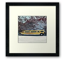 Hummer Stretch Limo Framed Print