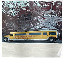 Hummer Stretch Limo Poster