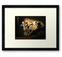 Shadowy Archer Framed Print