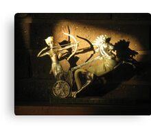 Shadowy Archer Canvas Print