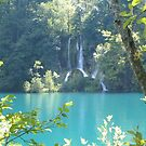 Turquoise lakes - Plitvice Croatia by machka