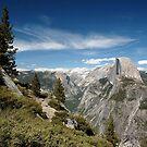 Half Dome and Tenaya Canyon by ten2eight