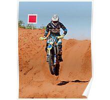 Bike 227 - Finke 2011 Day 2 Poster