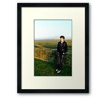 Jake - Flint Castle Framed Print