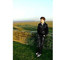 Jake - Flint Castle Photographic Print