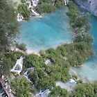 Plitvice cascades and lakes by machka