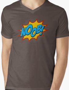 Noob ! Mens V-Neck T-Shirt