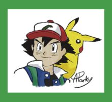 Ash and Pikachu Kids Clothes