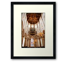 Light from on high Framed Print