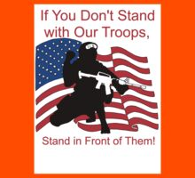 American Flag- Support our Troops Kids Clothes