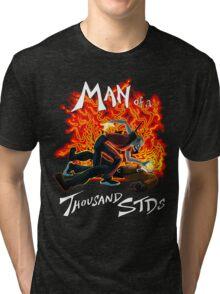 Man of a Thousand STDs Tri-blend T-Shirt