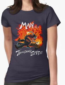Man of a Thousand STDs Womens Fitted T-Shirt