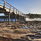 La Perouse foot bridge by Adriano Carrideo