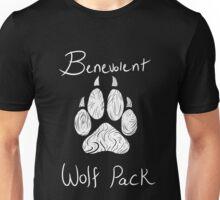 Benevolent Wolf Pack White Unisex T-Shirt