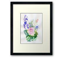 Floral spray Framed Print