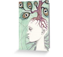 Immortal Eye Greeting Card