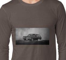 QUPNCY Burnout Long Sleeve T-Shirt