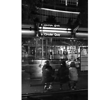 Bus Stop Photographic Print