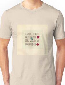 ambulance lyrics for tv on the radio Unisex T-Shirt