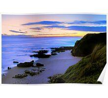 Bright Skies - Phillip Island, Victoria Poster
