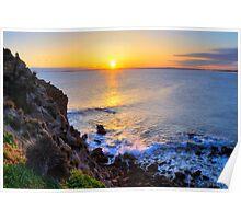 Sunset - The Pinnacles, Cape Woolamai, Phillip Island Poster