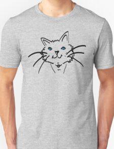 Blue-eyed Cat Unisex T-Shirt