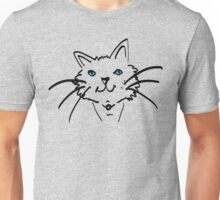 Blue-eyed Cat Unisex T-Shirt