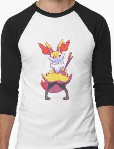 Braixen Men's Baseball ¾ T-Shirt