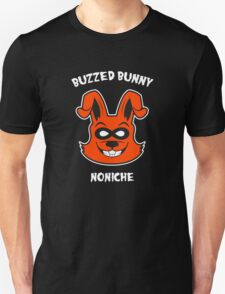 Orange Buzzed Bunny T-Shirt