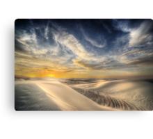 White Sands NM – Sunset Canvas Print