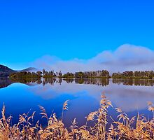 Hawkesbury River..19-6-11. by Warren  Patten