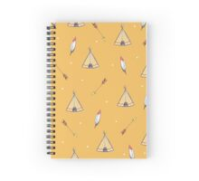 Tiny Tepees Spiral Notebook